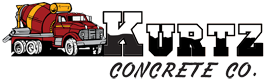 Kurtz Concrete Co. Sticky Logo